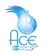Logo ACE massage cupping
